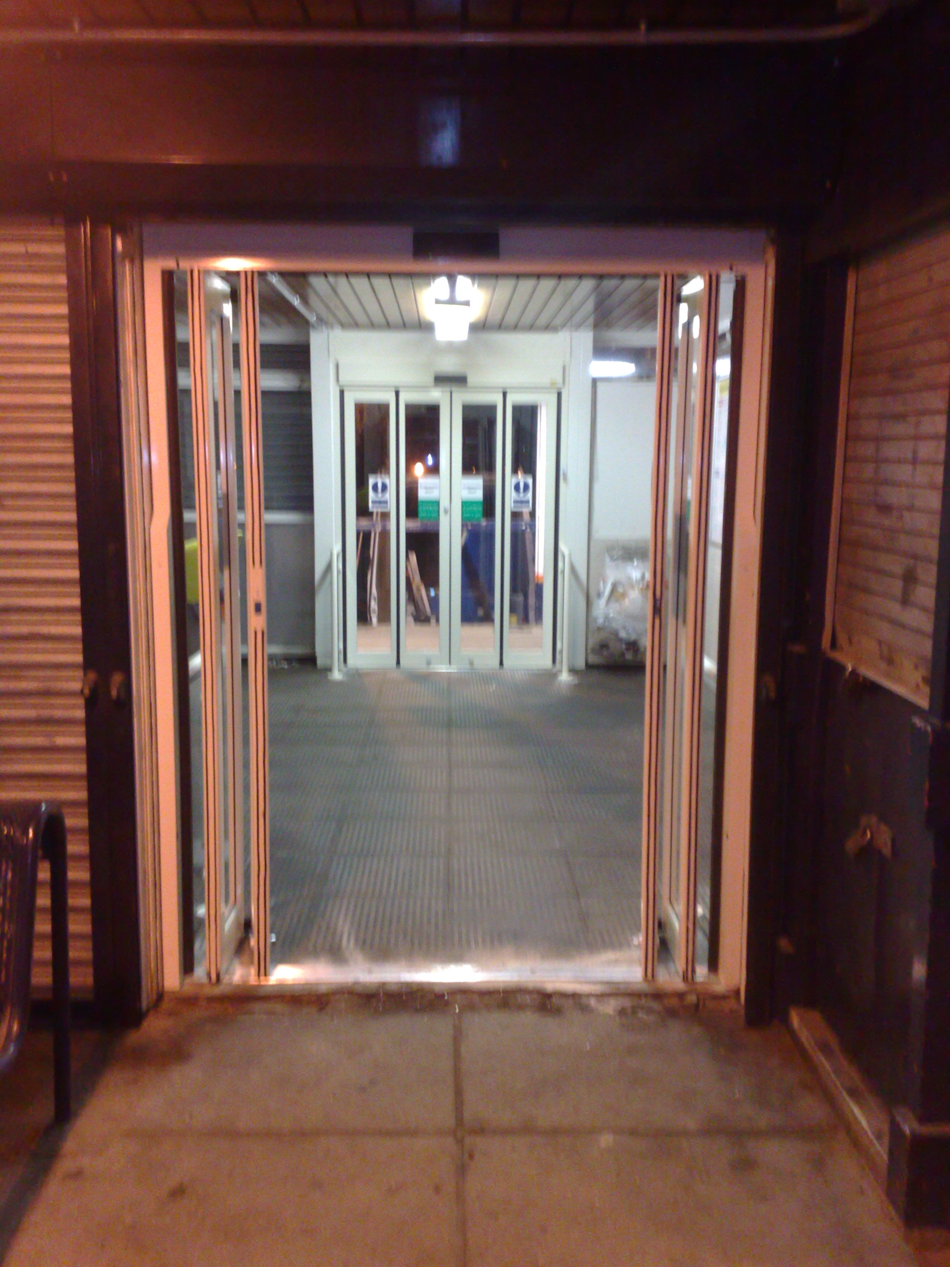 Access Solutions - Automatic Bi-Folding Door | ASN Door