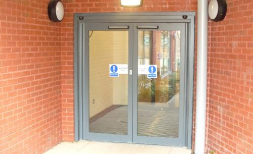 Access Solutions - Double Swing Electric Doors | ASN Door